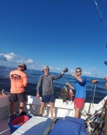 6-Hour Offshore Trip in September 2019
