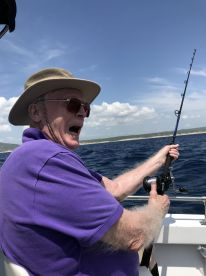 Tom:  FISH ON!