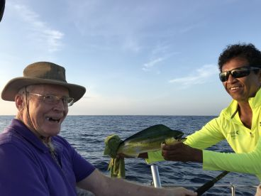 First baby Mahi released back.