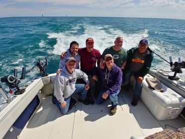 Half day trip with BlueMax Charters