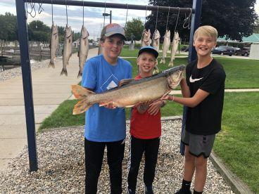 Lake Michigan trout surprise
