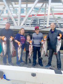 Half day Salmon fishing with captain Scott