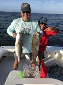 Red Fish courtesy CAPT Jeremy
