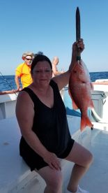 1 of the Red Snapper we had to throw back.