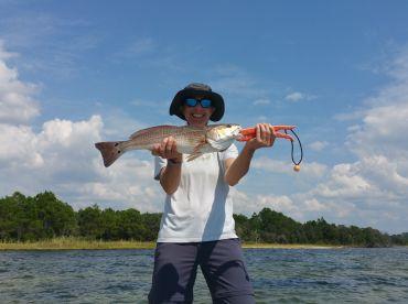 Beautiful weather & fish were biting!
