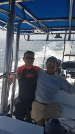 Full day trip with Captain Rodriquez and 1st Mate Louis
