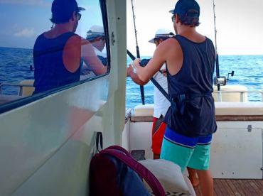 FishingChartersBali; Bali fishing boat; Bali