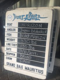 Full Day Fishing with Horizon and 1st Black Marlin! Amazing..