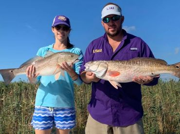 Inshore trip with Captain Chad