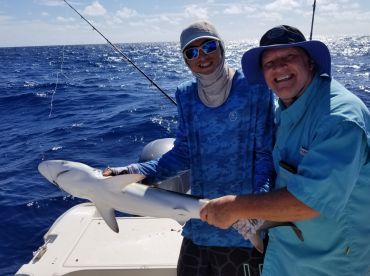 This was 3\/4 day trip with Captain George.  We had a great time.  George worked very hard to put us on the fish and to provide a wonderful experience for all on the charter.  His mate was very knowledgeable, courteous, and helped make for an outstanding t