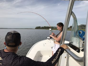 Four hour fishing with Captain Zach