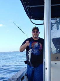 4 hr fishing trip with Captain Brett