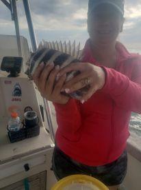 6 hr fishing trip with Captain Brett