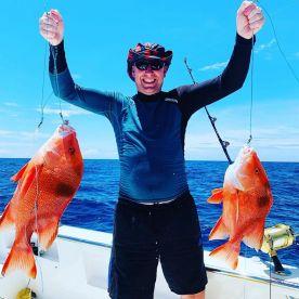 Fishing bbq snorkelling