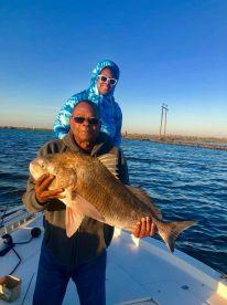 Fishing with David