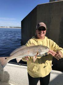 Everybody caught fish