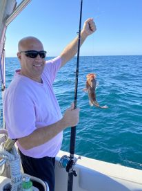 We had a fantastic day fishing on the gulf with Captain Greg!