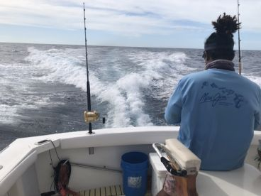 Full day offshore trip.