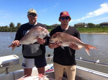 Awesome charter with shark man charters