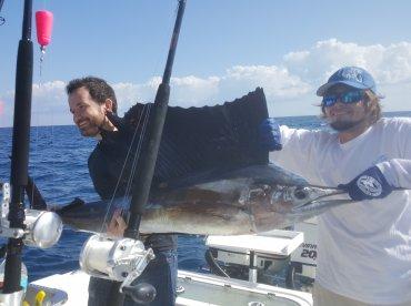 Full day sailfishing