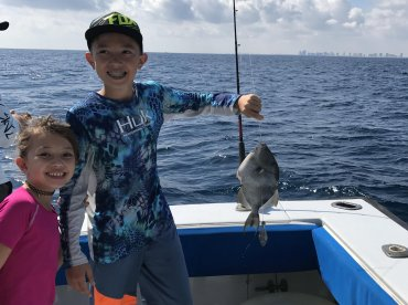 Half day trip with Tuna Wahoo fishing charters