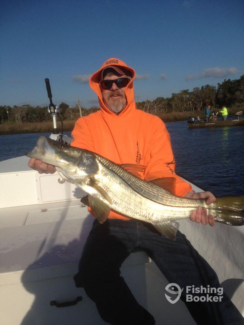 Fantasy fisherman homosassa springs fl fishingbooker for Sa fishing face shield review