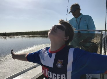 Morning bass fishing with captain Tom