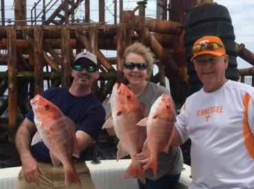 Full day trip with Capt Jerry (Awesome Capt)