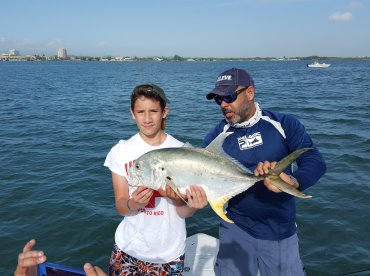 Eric and his 1st Jack Crevelle