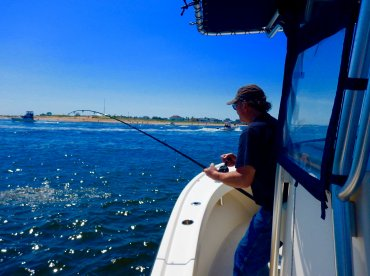 Half day fishing with Captain Chris