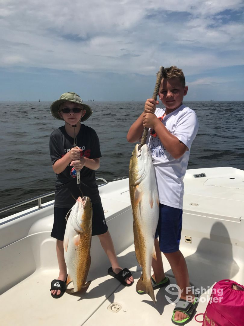 6 hr trip with captain ronnie review of another fish for Gulf shores alabama fishing charters