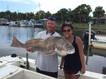 Half day Bay fishing with Captain Doug of Gulf Coast Extreme.