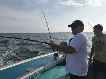 Morning trip with capt Buddy and 1st mate Brandon