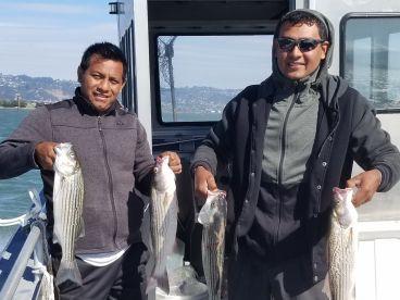 Full day fishing.