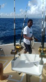Tuna were biting.....