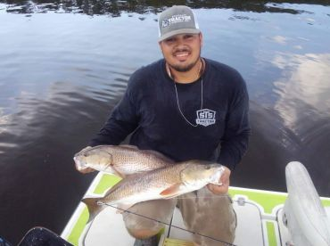 Multiple trips with Capt. Erik Johnson