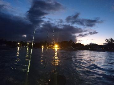 Leaving Mont Choisy @ 5am