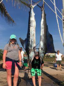 Deep sea fishing with the kids