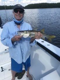 First ever Snook, on the money again. Cheers