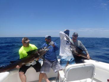 Double sailfish release | Guatemala | Mad Marlin