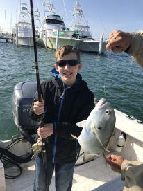 First ocean fishing trip!