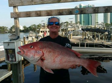 Biggest Red Snapper of the trip