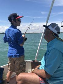 Tanner fishing trip
