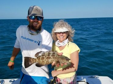 Biggest Grouper for the day!