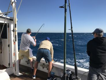 Fishing trip with Captain Dave and Mick