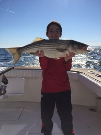 Fished on the bay with captain Rich