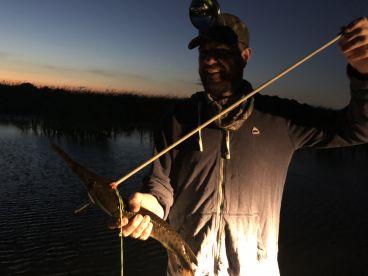 Bowfishing with Bobby