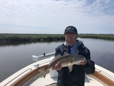 Redfish caught on Myrtle Beach Inshore Fishing