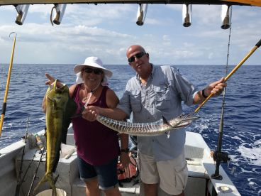 Full day charter with peter and spencer on the mojo