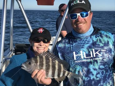 Day of fun and fishing with Captain Will Thompson
